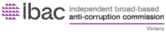 IBAC - Independent broad-based anti-corruption commission Victoria - logo