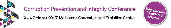 Corruption Prevention and Integrity Conference, 3-4 October